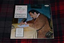 Cartas a mi Hijo~Enrique Rambal~Peerless 1135~IMPORT~FAST SHIPPING