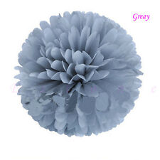 Outdoor Decor Tissue Paper Wedding Party's Xmas Home Pom Poms Flower Balls 5size