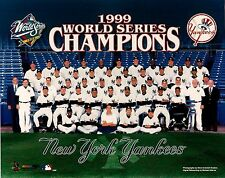 "1999 New York Yankees World Series Champions 8"" x 10"" Photo of Team"