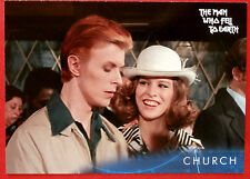 DAVID BOWIE - The Man Who Fell To Earth - Card #23 - Church - Unstoppable 2014