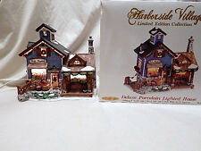 Harborside Village Lighted Limited Edition Collection Bailey's Fish Market MIB