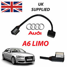 AUDI A6 Limo 4f0051510r 2014 AMI PER APPLE IPHONE IPOD AUDIO VIDEO CAVO ROSSO