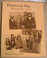 FLEETWOOD MAC THROUGH THE YEARS (STEVIE NICKS) BOOK BY EDWARD WINCENTSEN