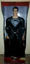 DC Comics 2013 Superman 31 inch Giant Size figure Man of Steel  black suit.  NIB