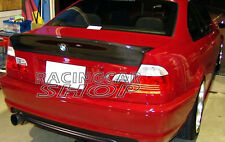 CSL Real Carbon Fiber Trunk Spoiler Wing For BMW E46 M3 328i 330i Sedan 4D B012