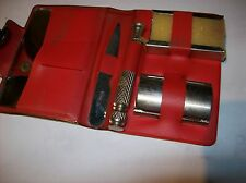 VINTAGE 1970S SAFETY  RAZOR  PLASTIC BOOK- SPECIAL TRIPLE CUT GERMANY