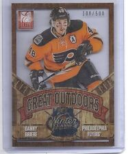 12-13 2012-13 ELITE DANNY BRIERE GREAT OUTDOORS /500 25 PHILADELPHIA FLYERS