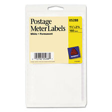 160 Avery Postage Meter Label 1-1/2x2-3/4 White