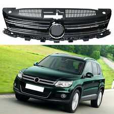 For Volkswagen Tiguan 2012-2016 Mesh Cover Car Front Grille Grill Bling Stripes