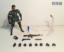 Revoltech 131 Special Head Version Naked Snake Metal Gear Solid Peace Walker