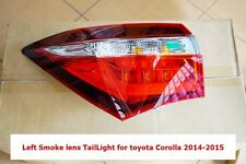 TOYOTA COROLLA ALTIS ESPORT NURBURGRING 2014-2015 SMOKE LENS TAIL LIGHT LEFT