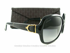New Gucci Sunglasses GG 3637/s 75QVK Black Authentic Made in Italy