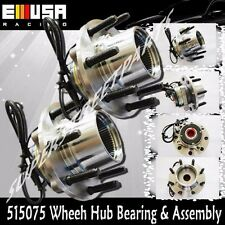 2pcs Front Ford F250 F350 Super Duty Wheel Hub Bearing Assembly 4WD 4X4 ABS