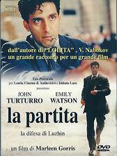 La partita. La difesa di Luzhin (2001) DVD NUOVO SIG John Turturro. Emily Watson