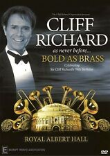 Cliff Richard Bold as Brass Live in London 2010 NEW R4 DVD