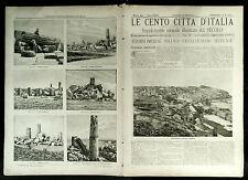 1900= LE CENTO CITTA D'ITALIA =TERMINI IMERESE - CASTELVETRANO...= ETNA.SONZOGNO