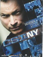 DVD BOX  CRIME SCENE INVESTIGATION NEW YORK CSI NY SEASON 4: 4.1   4.12 Nw cx