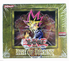 Yugioh Rise Of Destiny 1st Edition Booster Packs Retail Display Box Yu-Gi-Oh NEW
