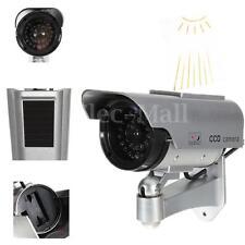 Factice Fausse Caméra CCTV Solaire Surveillance Sécurité Interieur Exterieur