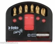 "Felo1/4"" Bit Box Swift,02060376, PZ1-2-3,PH1-2-3 + Magnethalter"