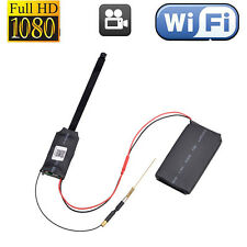 1080P Wireless WiFi IP Spy Hidden Camera DIY Module Mini DVR Motion Nanny Cam