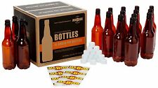 1/2 Liter Deluxe Beer Bottling System Includes 16 plastic PET Bottle BRAND NEW