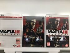 Mafia III 3 Deluxe Edition PC Spiel karton und NUR ABDECKUNG Kein original UK