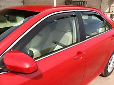 2012 - 2014.5 Toyota Camry 4-Piece In-Channel Wind Deflector Shades