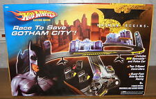Batman comienzo-Race to Save Gotham City-miniatura de Hot Wheels nuevo embalaje original New