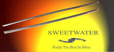 "Sweetwater 99.99% Pure Silver Wire 2 x 3"" 6 inch 2mm Soft Temper PROMO"