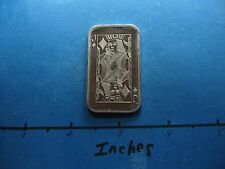 1/2 OZ JACK OF DIAMONDS 1975 PLAYING CARD 999 SILVER BAR ULTRA VERY RARE VERSION
