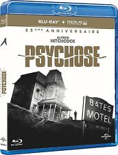 PSYCHOSE HITCHCOCK 55 EME ANNIVERSAIRE BLU RAY  NEUF SOUS CELLOPHANE