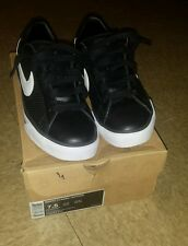 nike sweet classic leather BRS black and white shoes size 7.5 for $100