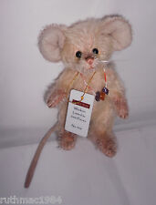 Charlie Bears WHISKERS Mouse Gang Minimo 2013 ~ Isabelle Lee ~ RETIRED Rare VHTF