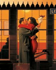 JACK Vettriano-retro in cui si appartiene-ART PRINT - 80x60cm
