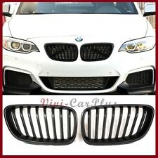 Matte Black BMW P Type Front Grille For 14-15 F22 F23 Coupe M235i 220i 228i 235i