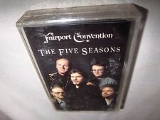 FAIRPORT CONVENTION-THE FIVE SEASONS-ROUGH TRADE NR 005-4 NEW SEALED Cassette