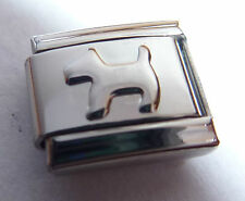 Silver DOG Italian Charm - Scottie Dogs Terrier 9mm fits Classic Bracelets N301
