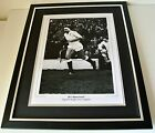 Bill Beaumont Signed FRAMED Huge Photo Autograph display England Rugby PROOF COA