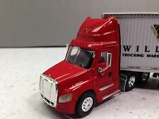 HO 1/87 TNS # 103 Freightliner Cascadia  Day Cab w/53' Dry Van - BR Williams