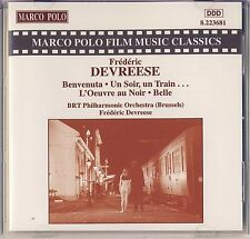 Marco Polo Film Music Classics - Devreese: Benvenuta, Un Soir, Un Train Like New