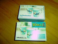 4 Stk Kaffeetassen-bzw. becher aus Keramik - NEU