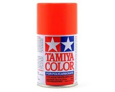 TAMIYA PS-20 R/C Car Florescent Red Spray Lexan Polycarbonate Hobby Paint 3oz