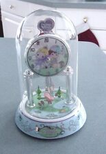 PRECIOUS MOMENTS ANNIVERSARY COLLECTIBLE CLOCK WORLD BETTER FRIENDS PENDULUM NEW