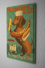 Tin Sign Dog Dachshund