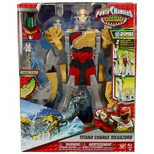 POWER RANGERS DINO SUPER CHARGE TITANO CHARGE MEGAZORD ACTION FIGURE