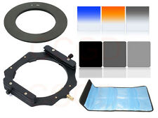 Square ND16 4 8 Graduated Orange/Blue Filter Kit + 67MM Adapter Ring 150*100mm