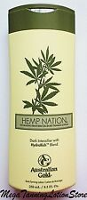 NEW  Australian Gold  Hemp Nation Dark Intensifier Tanning Indoor Bed Lotion
