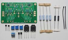 Mosfet 25W class A amplifier w/ improved symmetry partial assembled kit !
