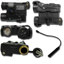 AN/Peq16A IPIM Black An Peq16 Peq 16 Led Light IR Red Laser Airsoft EX 176N